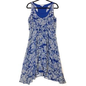 CAbi floral 851 willow double short dress 9700